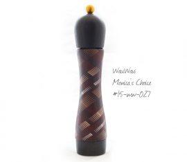 Monica Gross Meinhart arbeitet mit WauWau zusammen an einer besonderen Pfeffermühlenkollektion.