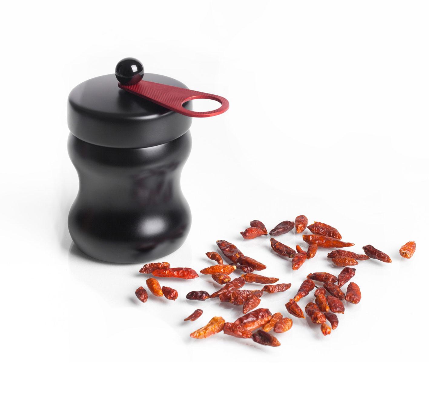 WauWau Chilimühle für getrockneten Chili