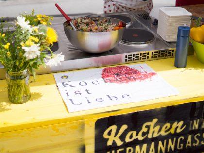 Kochen in der Hermanngasse