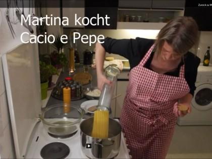 Martina kocht Cacio e Pepe