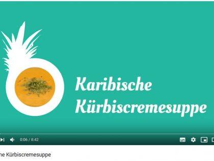 Karibische Kürbissuppe von Barbaras Küche
