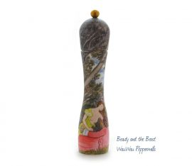Beauty and the Beast - a WauWau pepper grinder.