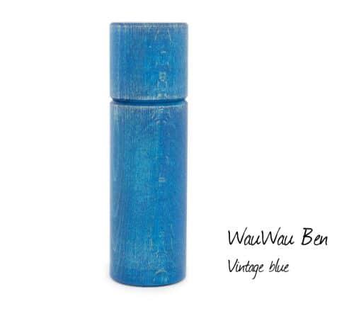 WauWau Pfeffermühle Ben vintage blau