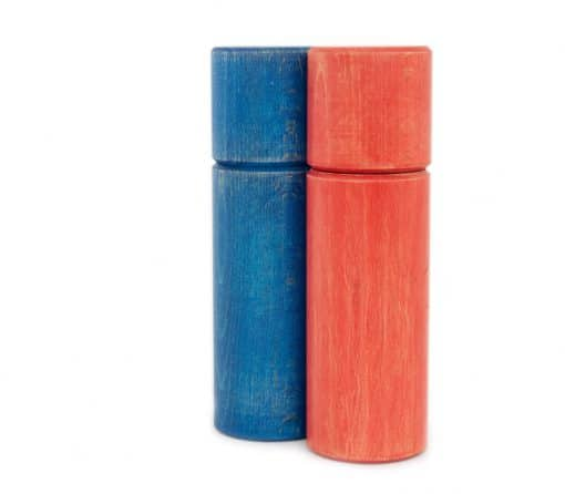 WauWau Pfeffermühle Ben vintage blau/ rot
