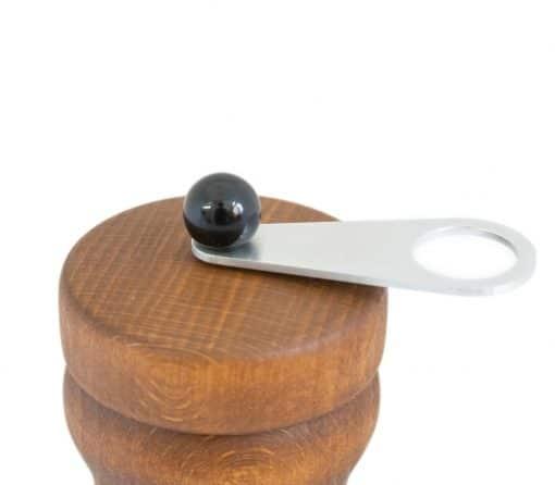 HOT Chilimühle buche vintage alu Kugelfarbe schwarz