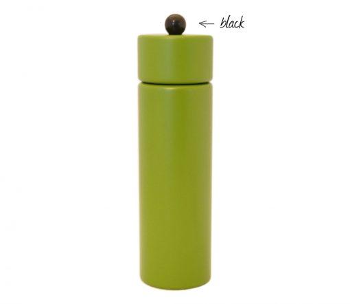 WauWau Pfeffermühle Jumsy farbgrün kugel schwarz