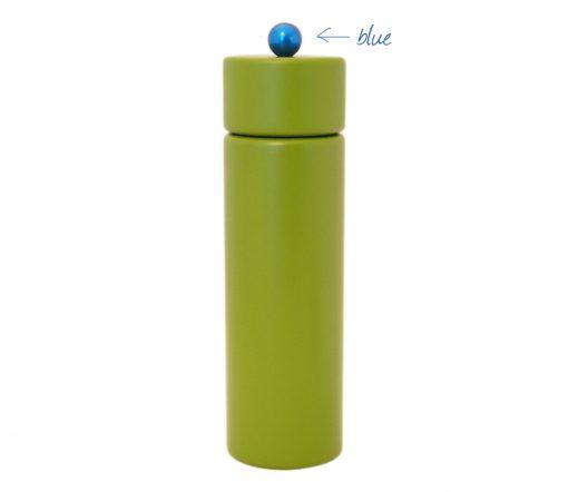 WauWau Pfeffermühle Jumsy farbgrün kugel blau