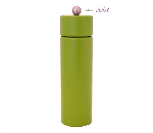 WauWau Pfeffermühle Jumsy farbgrün kugel violett