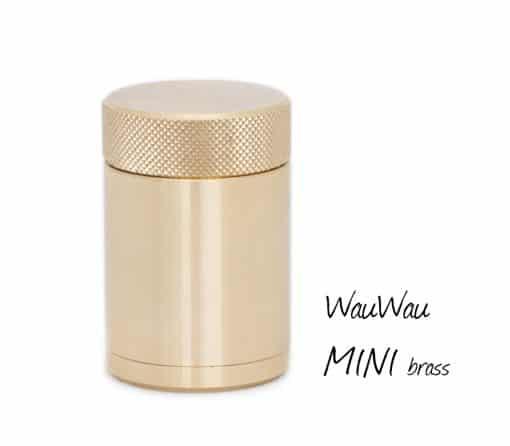 WauWau Pfeffermühle Mini brass