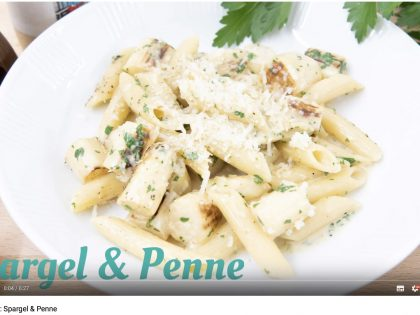 Barbaras Küche: Spargel & Penne