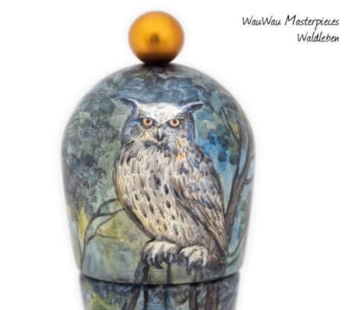 WauWau Masterpieces Waldleben, Detail
