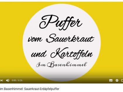 Im Basenhimmel: Sauerkraut-Erdäpfelpuffer