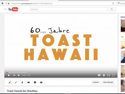 Haben Sie sich schon einmal Toast Hawaii gegönnt?